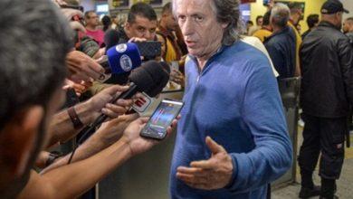 Photo of Jorge Jesus volta ao Rio e fala em sintonia com a direção por renovação