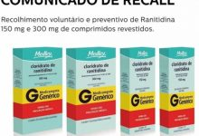 Photo of Farmacêuticas anunciam recall de medicamento para úlcera no estômago