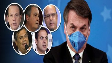 Photo of Governadores vão reagir se Bolsonaro baixar decreto contra isolamento social