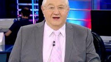 """Photo of No grupo de risco, Boris Casoy é afastado do """"Rede TV News"""""""