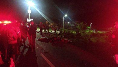 Photo of Duas pessoas morrem em acidente na AL-465 em Japaratinga