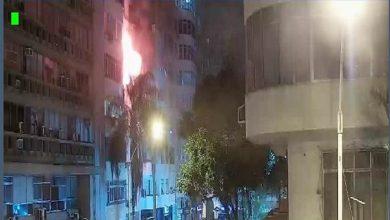 Photo of Incêndio em apartamento de Copacabana deixa dois feridos