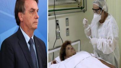 "Photo of Bolsonaro debocha de sintoma das vítimas do covid-19 e diz que vírus é igual chuva: ""pode molhar ou afogar"""