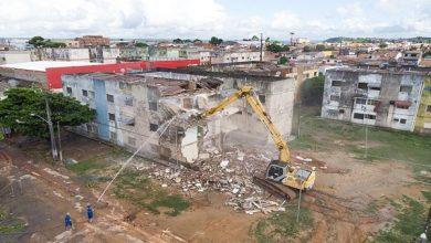 Photo of Pinheiro: prédios colapsados começam a ser demolidos