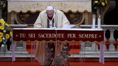 Photo of Papa Francisco pede solidariedade no combate ao coronavírus