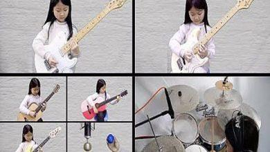 Photo of 'Hotel California' e mais: garota de 6 anos toca todos os instrumentos e viraliza; assista
