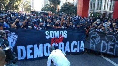"""Photo of Diretor do Corinthians apoia presença da torcida em protesto: """"Democracia é inegociável"""""""