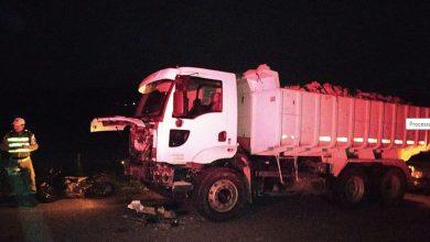 Photo of Motociclista fica ferido após bater de frente com caminhão na AL-130