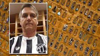 """Photo of Com mais de 70 mil mortos por Covid-19 no Brasil, Bolsonaro diz que """"pânico foi disseminado"""" e prioriza a economia"""