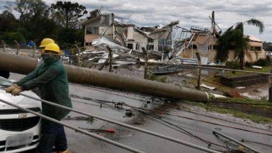 Photo of Ao menos nove pessoas morreram devido a ciclone que atingiu Região Sul