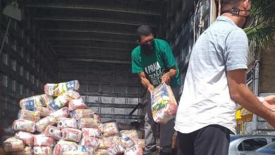 Photo of Quatro toneladas de alimentos são entregues aos ambulantes de Marechal Deodoro
