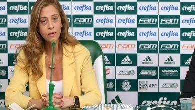 """Photo of Leila lembra situação delicada do Palmeiras em 2014: """"Quem salvou foi o Santos"""""""