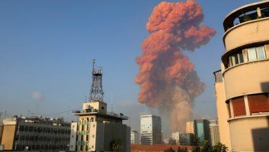 Photo of Grande explosão atinge área portuária de Beirute; governo cita 'alto número de feridos'