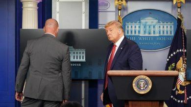 Photo of Coletiva de imprensa de Trump é interrompida por tiros do lado de fora da Casa Branca