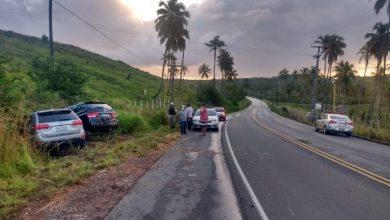 Photo of Ex-prefeito se envolve em acidente de trânsito na AL 101 Sul em Jequiá da Praia