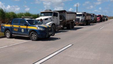 Photo of PRF flagra 8 veículos de carga com mais de 100 toneladas de excesso de peso