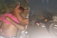 Photo of Motociclista fica ferido após acidente em rodovia de Santana do Mundaú