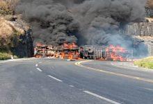 Photo of Motorista é carbonizado em acidente com caminhão-tanque na BR-265
