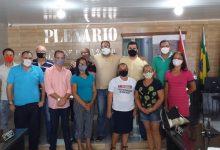 Photo of Presidente da Câmara de Vereadores de Maribondo, participa de reunião junto a Professores e Secretários Municipais e Engenheiros.