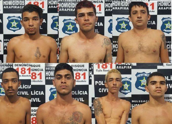 7 presos