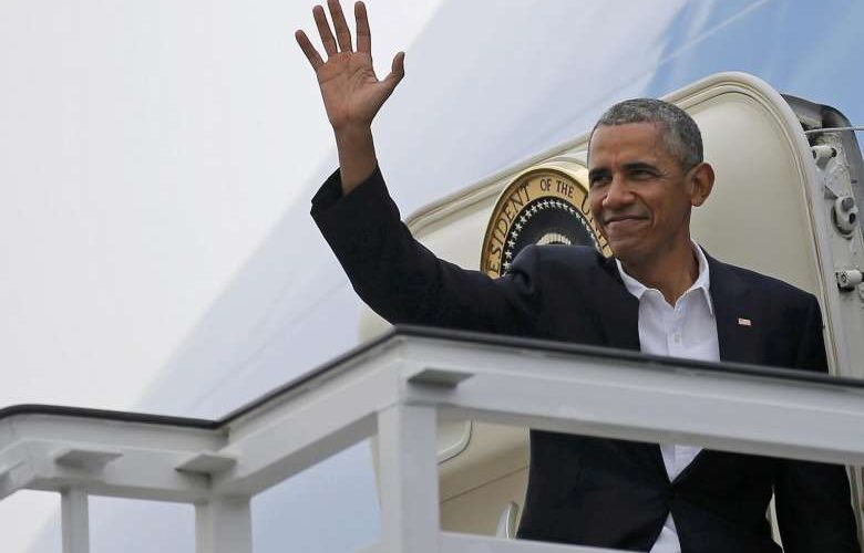 Barack Obama Viagem