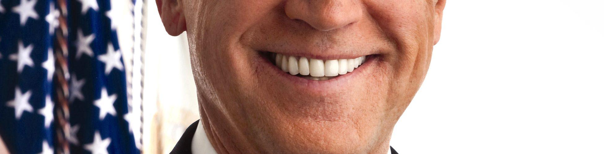 VP Biden: Portrait shoot by Andrew