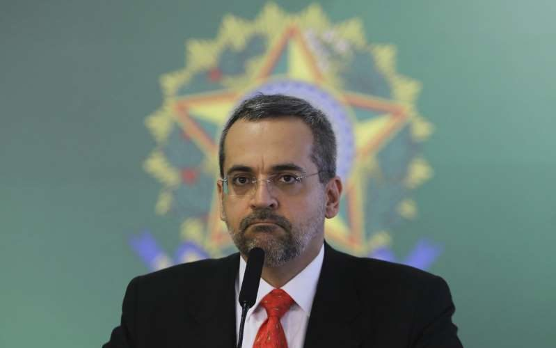 Ministro Educação - Abraham Weintraub